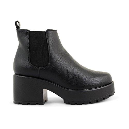Footwear Sensation - Botas para mujer - Black Gusset