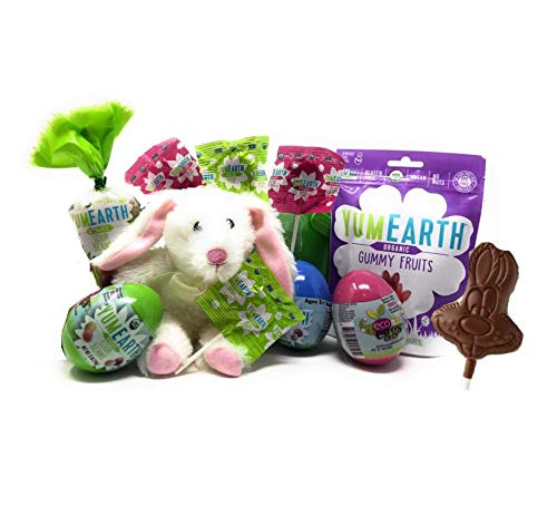 Emulsifier Gluten Free (Gluten Free Vegan Easter Basket- Organic YumEarth Gummy Bunnies, Yum Earth Jelly Beans, Yum Earth Filled Easter Eggs, Vegan Chocolate Bunny and More!)