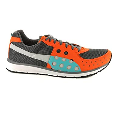 e3125029ccd7 Mens Puma FAAS 300 Running Shoes Steel Grey Orange Trainers UK 7.5   Amazon.co.uk  Shoes   Bags