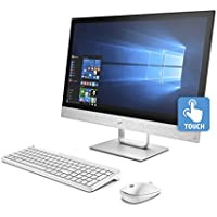 "HP Pavilion 24-R015Z, AMD- A9, 12GB 1TB HDD 23.8"" FHD Touch Screen, All-in-One (Certified Refurbished)"