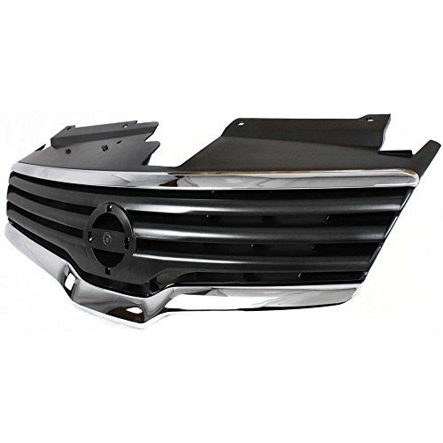 Diften 104-C0961-X01 - New Grille Grill Sedan for Nissan Altima 2007-2009 NI1200221 62070ZN50A (2007 Nissan Altima Chrome Grill compare prices)