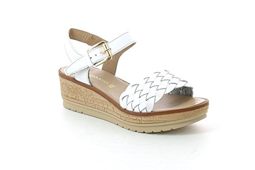 Bianco Sandalo Sa1555 Donna Grunland Coco 37 P xTXwzw