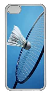 LJF phone case ipod touch 4 Cases & Covers -Badminton Custom PC Case Cover For ipod touch 4 - Tranparent