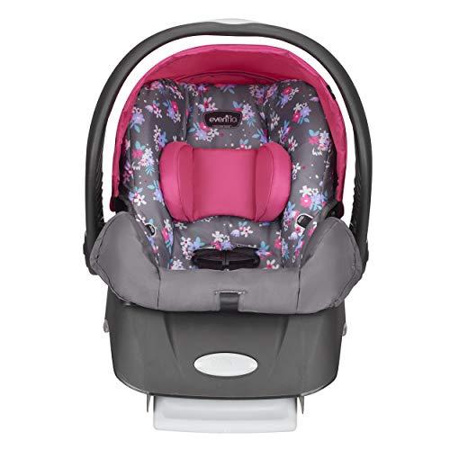 Evenflo Embrace Select Infant Car Seat, Blossom