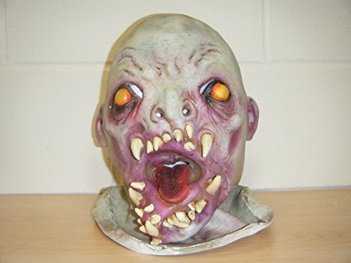 Wrestling Masks UK Zombie Monster Skull Deluxe Latex Horror Halloween Fancy Dress Costume Head Mask -