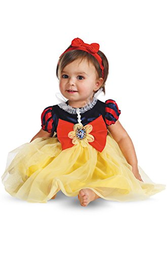 Best Halloween Costumes For Baby Girl (Disguise My First Disney Snow White Costume, Red/Blue/Yellow, 6-12 Months)