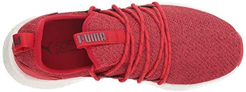 pomegranate PUMA Women's Nrgy Ribbon Knit Neko Red Sneaker 00rgq
