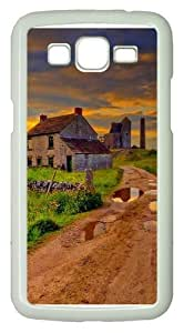 Grass house road scenic skies Custom Samsung Grand 7106/2 Case Cover Polycarbonate White by mcsharks