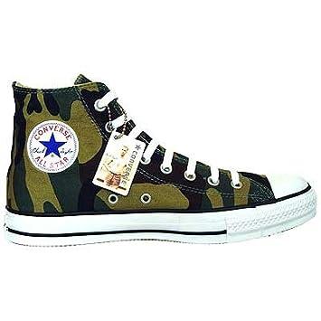 0a6e30737bdff Converse All Star Chucks Camouflage Army Green Grün HI 1H666 Größe 42 (UK  8