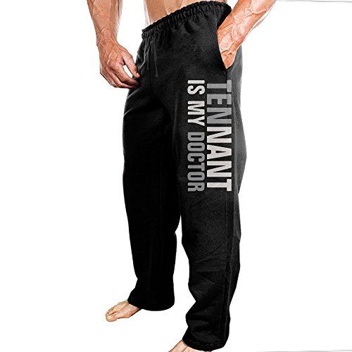 Men's Sport Tennant Is My Doctor Tenth Doctor Cotton Sweatpants (10th Doctor Dress)