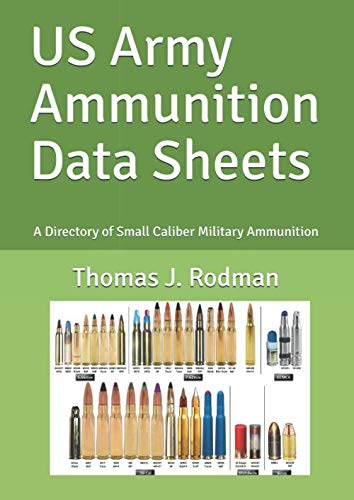 US Army Ammunition Data Sheets: A Directory Of Small Caliber Military Ammunition