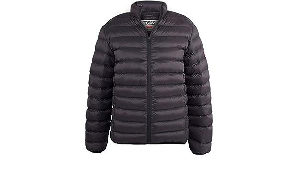 Duke D555 Mens Big Tall King Size Paxton Warm Winter Puffer Coat Jacket Black