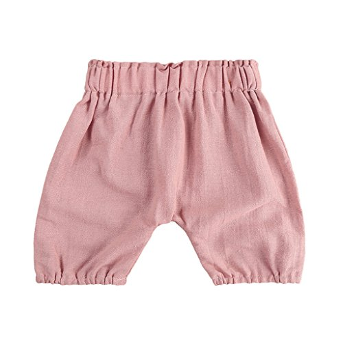 Linen Bloomers - MIOIM Unisex Baby Girls Boys Kids Infant Toddler Cotton Line Soft Bloomers Causal Shorts Pants