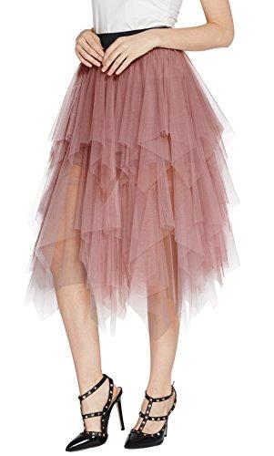 Tutu Skirts For Women - Urban CoCo Women's Sheer Tutu Skirt