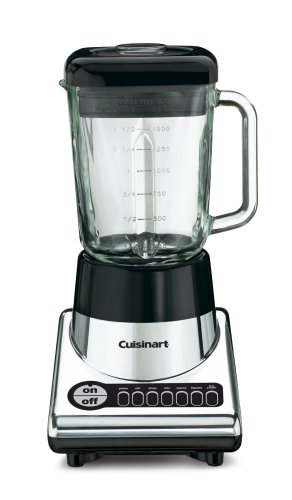 Cuisinart PowerBlend 600 SPB-10CH 600 Watt 1.75 Quart Table Top Blender DISCONTINUED BY MANUFACTURER (Cuisinart Blender Jar Replacement compare prices)