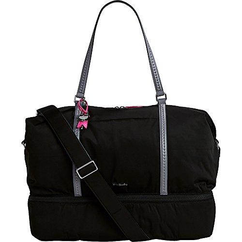 Vera Bradley Midtown Travel Bag - Solids (Black) by Vera Bradley