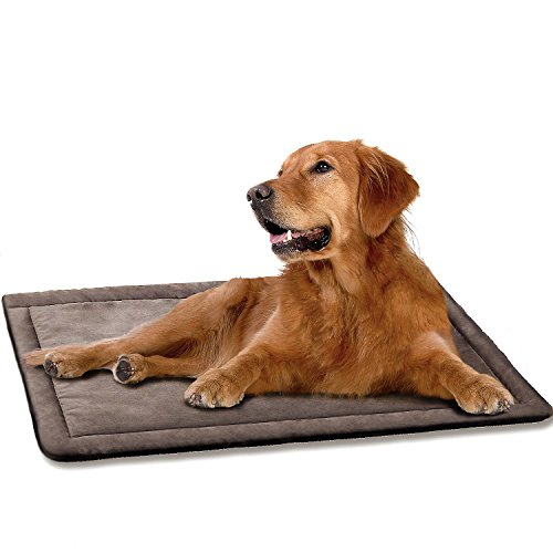 DogJog Dog kennel pad Washable Mat Warm Breathable Comfortable Dog bed for crate 35