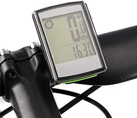 FENGHU - Velocímetro de bicicleta impermeable para ordenador con ...