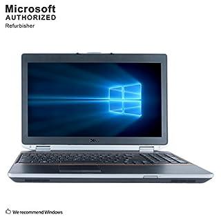 Dell Latitude E6520 15.6 Inch Business Laptop, Intel Core i5-2520M up to 3.2GHz, 8G DDR3, 500G, DVD, WIFI, Bluetooth, VGA, HDMI, Win10 Pro 64 Bit Multi-Language Support English/French/Spanish(Renewed)