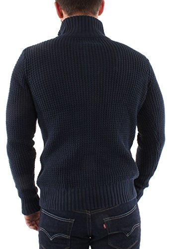 Marine solid Bleu River Knit Pull 'river' wRxnqAgnS1