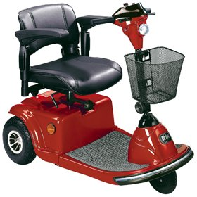 Scooter (Red) (Daytona 3 Scooter)