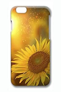 Beautiful Sunflower 5 Slim Hard Cover for iPhone 6 Case (4.7 inch) PC 3D Cases