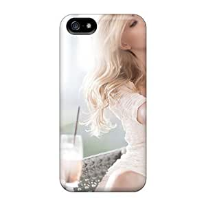 Anti-scratch And Shatterproof Make Up Girl Phone Case For Iphone 5/5s/ High Quality Tpu Case