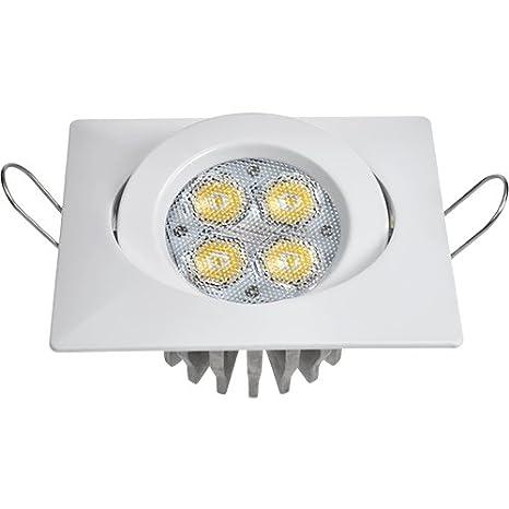 Guli TD16 Cibeles LED con Driver incluido 6000K, 7W, Blanco, 82 x 82 x 36 mm.: Amazon.es: Iluminación