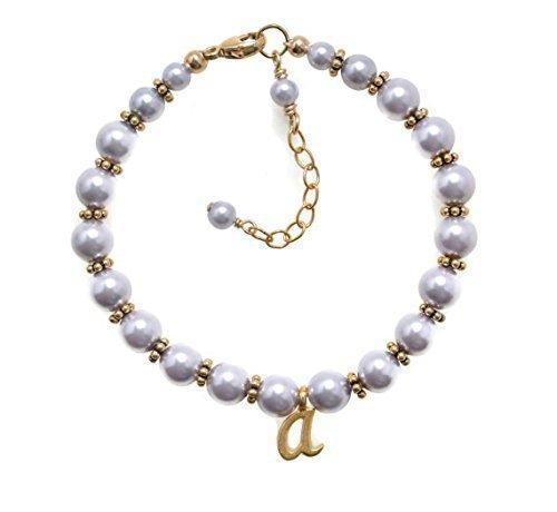 Amazoncom Gold Baby Bracelets Baby Bracelets Personalized Girls