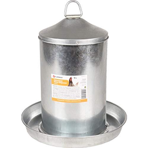 Abreuvoir Dobby galvanis/é 5 litres pour Poules FLAMINGO FL-310047