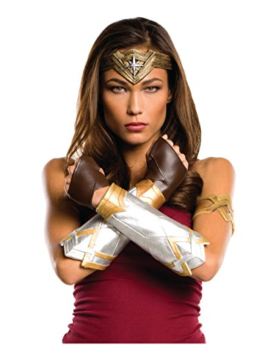 Rubie's Women's Batman v Superman: Dawn of Justice Wonder Woman Deluxe Accessory Set, Multi, One Size (Dawn Justice)