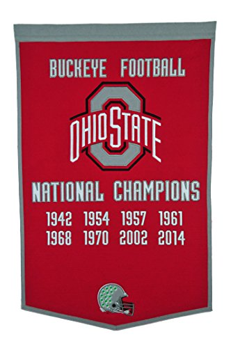 Ncaa National Championship Banner - NCAA Ohio State Buckeyes Dynasty Banner