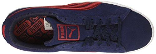 discount with mastercard buy cheap low shipping PUMA Men's Classic Badge Fashion Sneaker Peacoat-toreador buy cheap fake BveXXxLQ