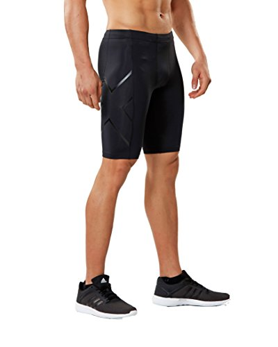 2XU Men's Core Compression Shorts, Black/Nero, Medium