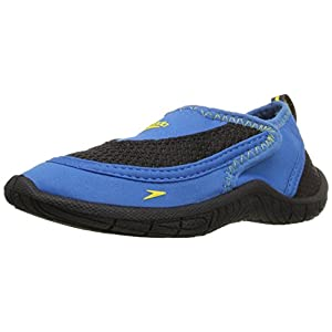 Speedo Surfwalker Pro 2.0 Water Shoes (Toddler), Blue/Black, 8/9 US Toddler