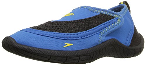 Speedo Surfwalker Pro 2.0 Water Shoes (Toddler), Blue/Black, 8/9  US Toddler (Speedos Water Shoes compare prices)