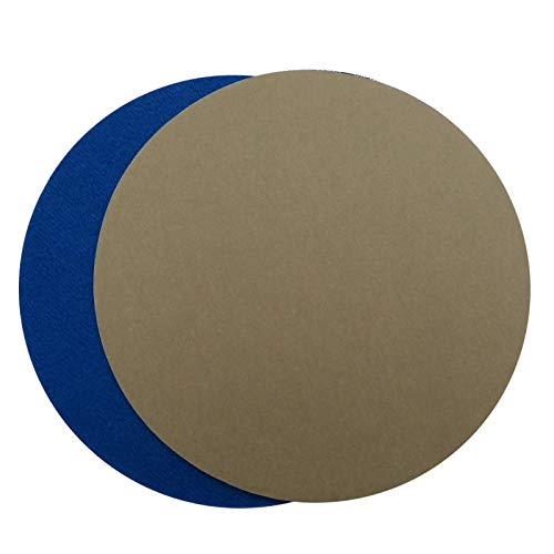 Maslin 80PCS 155MM Waterproof Sandpaper Hook and Loop Sanding Discs Silicon Carbide 3000/5000/7000/10000 Assorted Grits