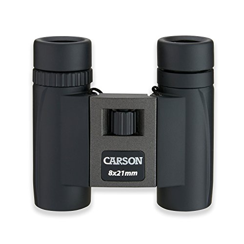Carson TM-821 TrailMaxx 8x21mm Compact Binoculars