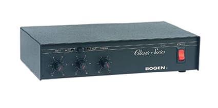 Bogen 20 Watt Clic Series Public Address Amplifier (C20) on