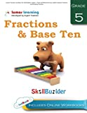 Lumos Fractions and Base Ten Skill Builder, Grade 5 - Read and Write Decimals, Add & Subtract Fractions and Dividing Fractions: Plus Online ... Apps (Lumos Math Skill Builder) (Volume 4)