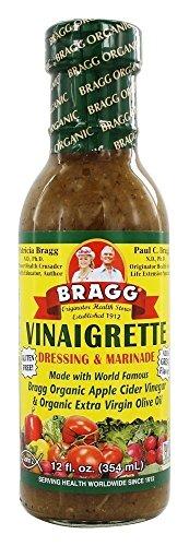 Bragg Vinaigrette Dressing w/ Organic Apple Cider & Extra Virgin Olive Oil | 12oz | Pack of 1