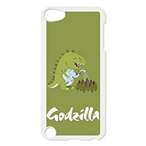 Custom Your Own Unique Godzilla Ipod Touch 5th Cover Snap on Godzilla Ipod 5 Case by Maris's Diary