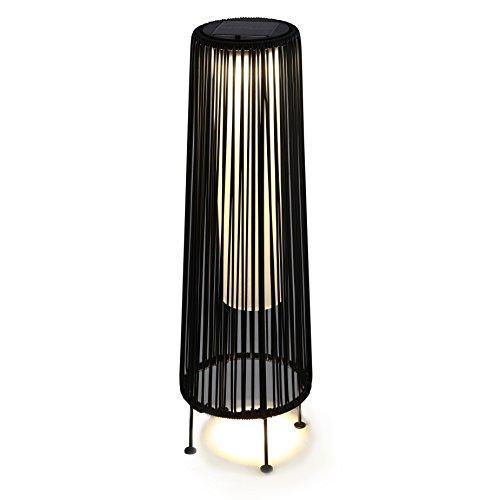 Black Outdoor Floor Lamp in US - 3