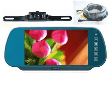 Rear View Mirror Camera System-7