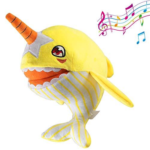 Shark Baby Singing Plush,Stuffed Animal Toys for Kids Toddler 11
