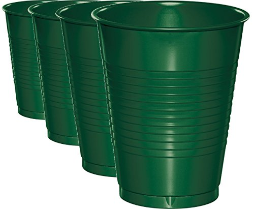 Creative Converting 16 Fluid Ounce Plastic Tumbler Cups, 32-Pack ()
