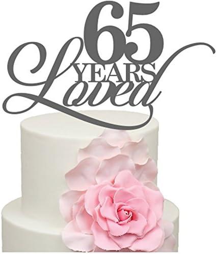 Anniversario Di Matrimonio 65 Anni.65 Anni Amato Il Anniversario Di Matrimonio Decorazione Per