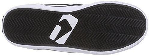 GlobeMotley Mid - Zapatillas Unisex adulto Negro - Black (10836 Black/white Fur)