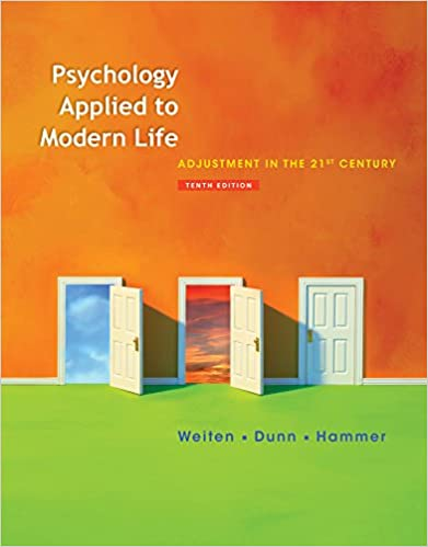 Applied edition modern life psychology pdf 10th to