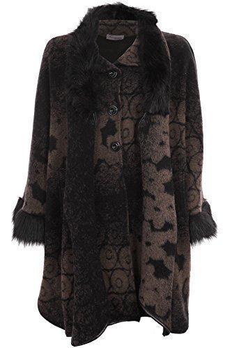 chauve veste souris Fantasia dye pour and femmes Pierre charpe dtachable manche Boutique cape tie col polaire fourrure ICwfwBq